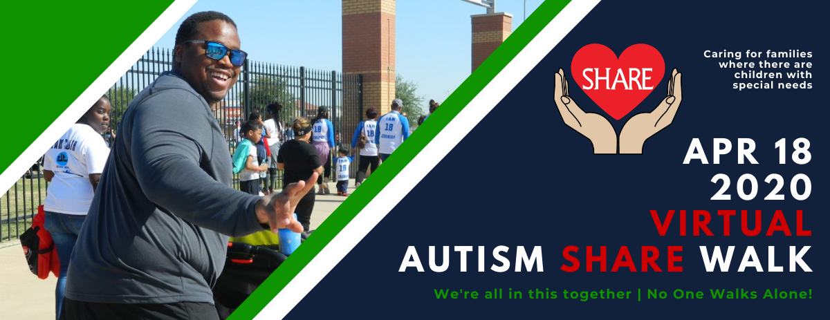 Autism SHARE Walk 2020